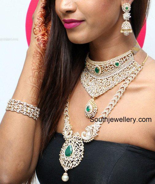 diamond_necklace_haram+jhumkas