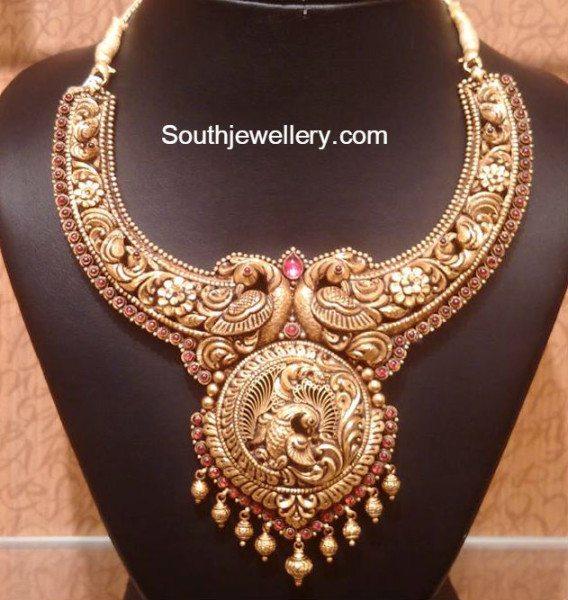 peacock_nakshi_necklace 4