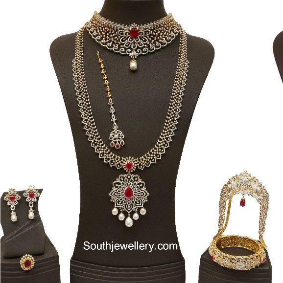 Bridal Diamond Jewellery Set