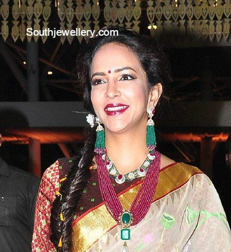 lakshmi_manchu_jewellery_at_pearl_halfsaree_function
