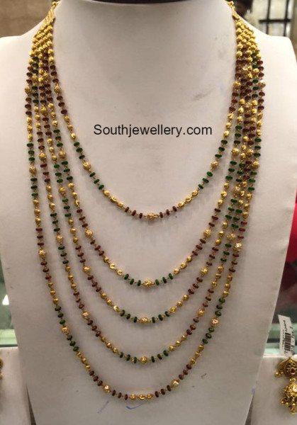 layered beads mala