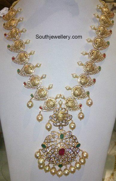 mango_kasu_pacchi_necklace