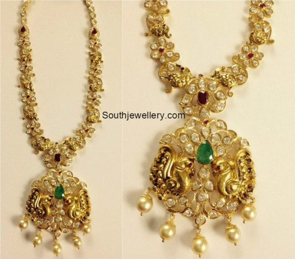 peacock_floral_pacchi_necklace