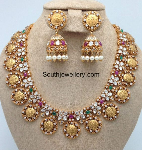ram parivar pacchi necklace