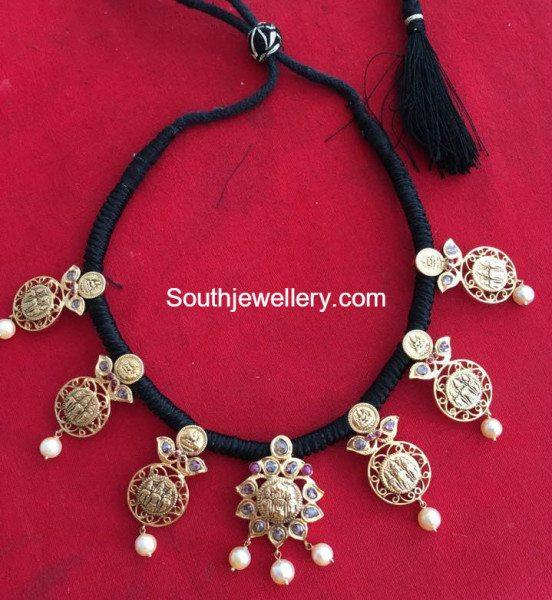 ram_lakshman_black_dori_necklace