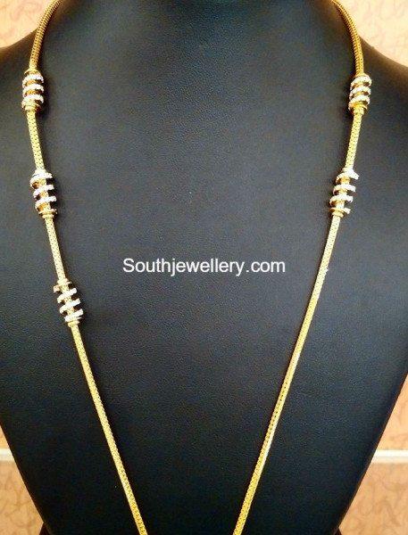 Thaali Chain Models Jewellery Designs
