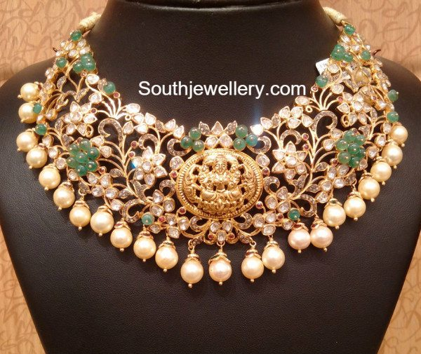 bridal pacchi necklace