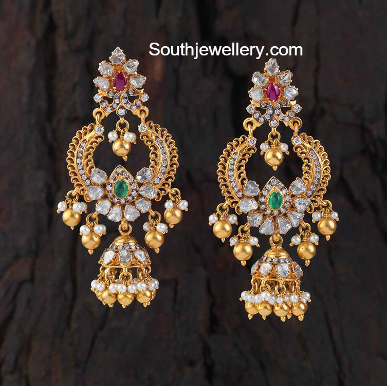 6a512111f Gold Earrings latest jewelry designs - Page 7 of 19 - Jewellery Designs