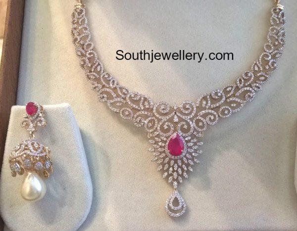 diamond_necklace_and_jhumkas