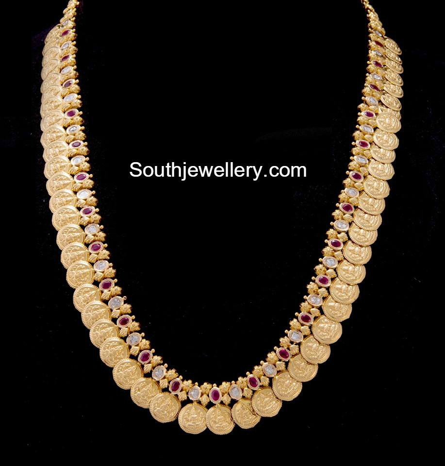 Gold long chain latest jewelry designs page 3 of 37 for Simple gold ornaments