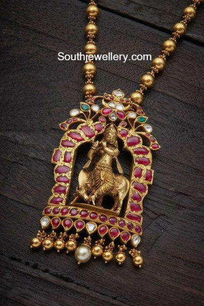 sri krishna pendant