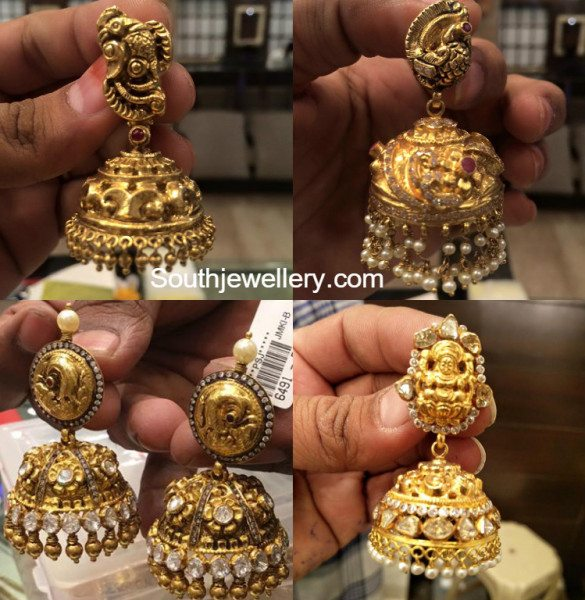 antique_nakshi_jhumkas_buttalu