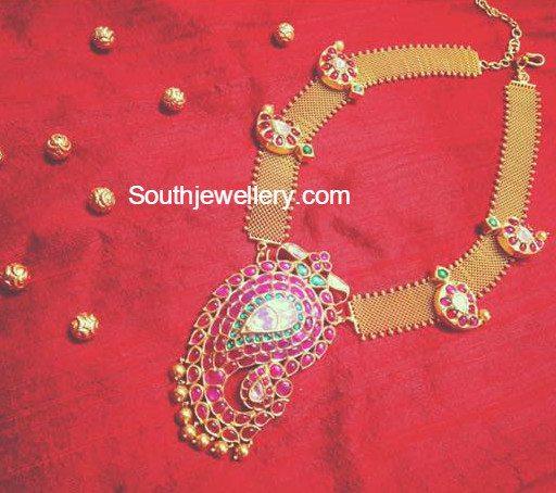 antique_necklace_mango_pendant