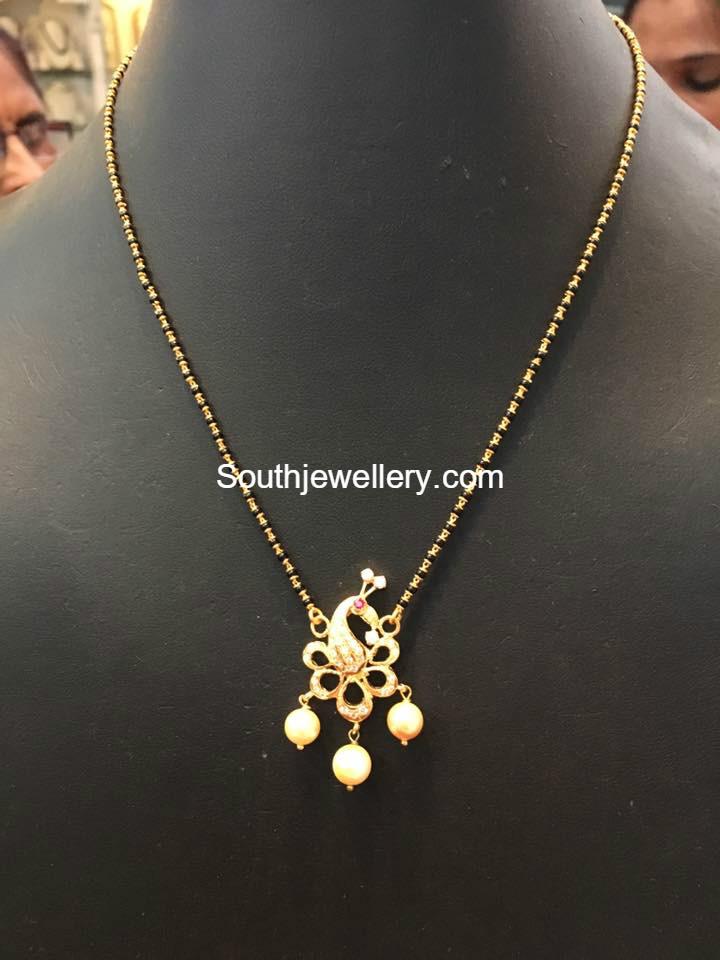 462cbc57a05a9 SHORT NALLAPUSALU latest jewelry designs - Jewellery Designs