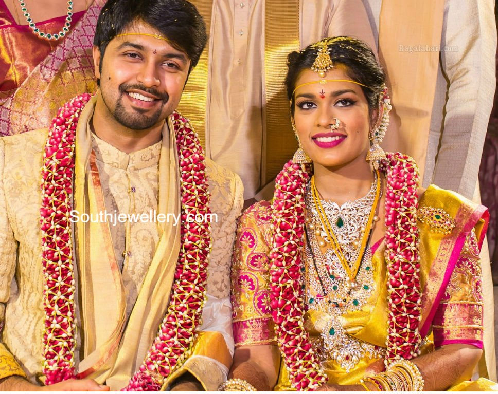 Chiranjeevi Daughter Sreeja Wedding Jewellery Jewellery