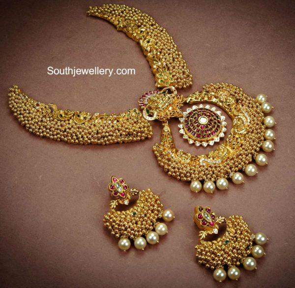 antique_gajjalu_necklace