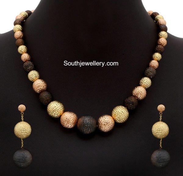 gold_balls_necklace_set