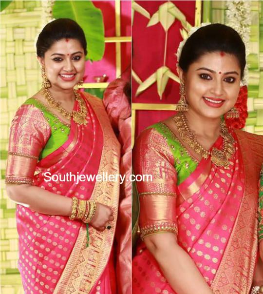 Actress Sneha Latest Jewelry Designs Jewellery Designs