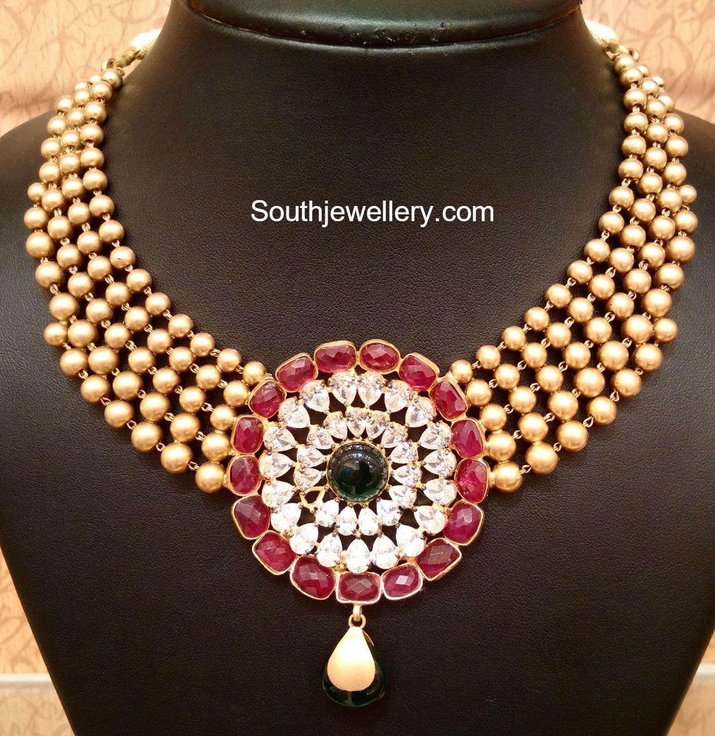 gundla mala latest jewelry designs jewellery designs