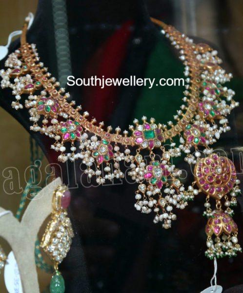 guttapusalu_necklace_jhumkas_set