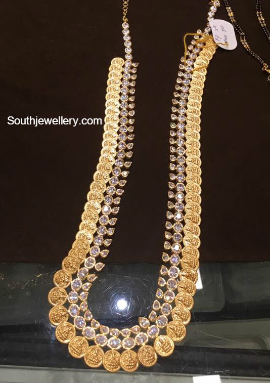 Antique Lakshmi Kasu Mala Jewellery Designs