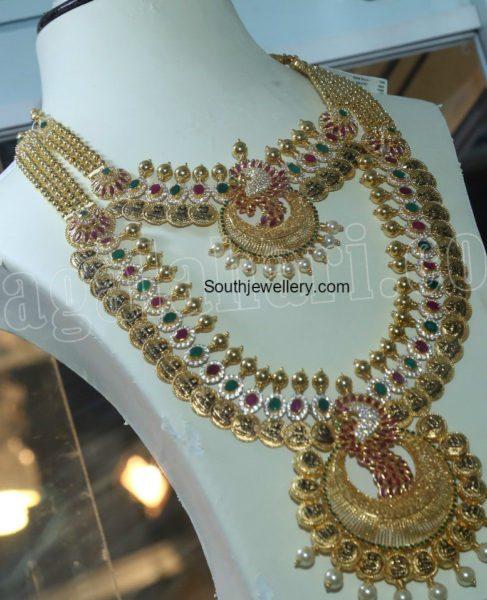 lakshmi_kasu_necklace_haram_set