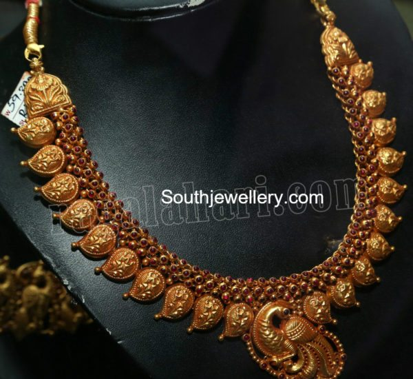 mango_necklace_peacock_pendant