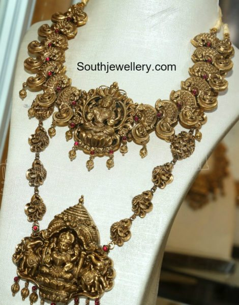 temple_necklace_haram_set