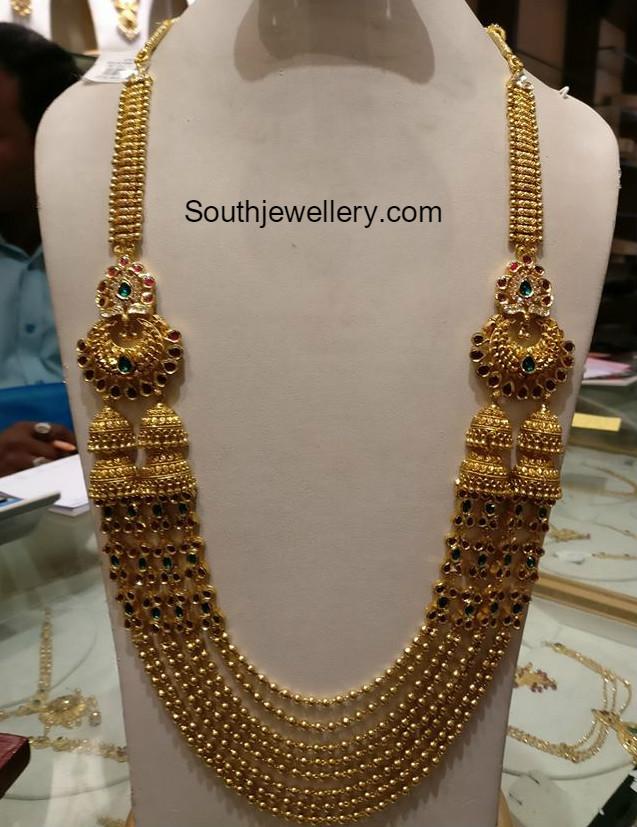 Kasula peru latest jewelry designs - Jewellery Designs