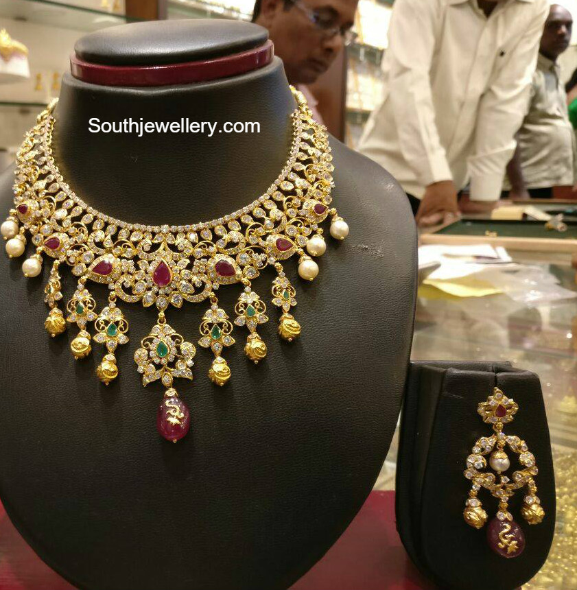 jewellery choker designs gold hqdefault watch youtube model necklace latest