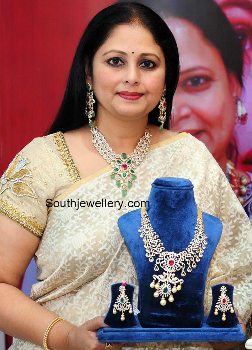 Jayasudha In Vasundhara Exotic Jewellery Jewellery Designs