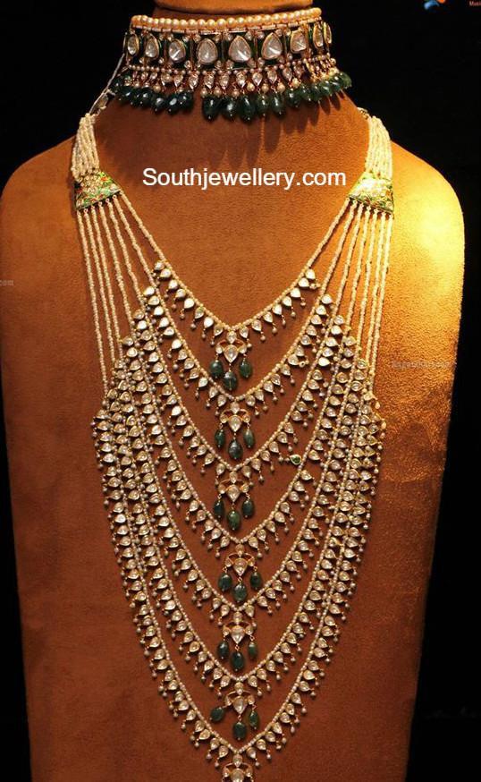 Satlada Haar Latest Jewelry Designs Jewellery Designs