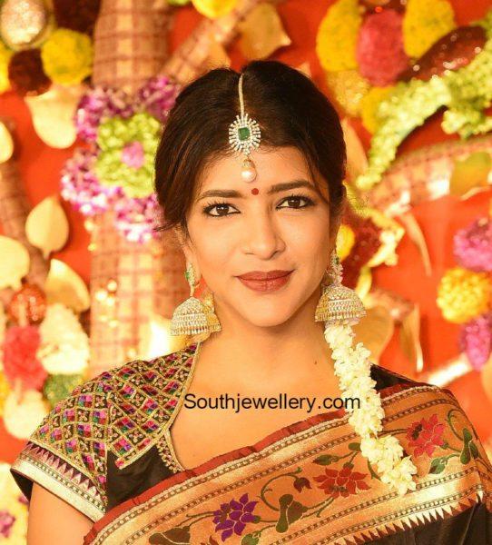 lakshmi_manchu_diamond_jhumkas