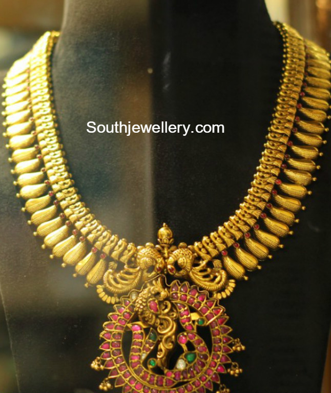 22k gold haram designs latest jewelry designs Jewellery Designs
