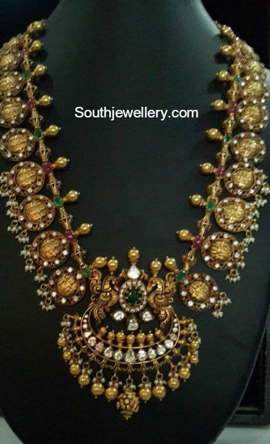 Ram Sita Kasu Haram Jewellery Designs
