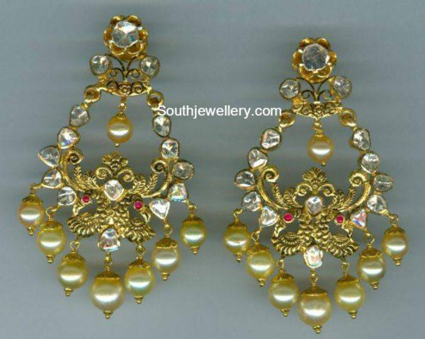 Antique Gold Chandbalis