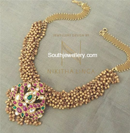 gajjalu_necklace_gold