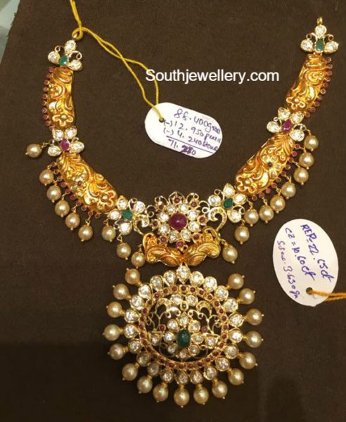 70 Grams Nakshi Necklace