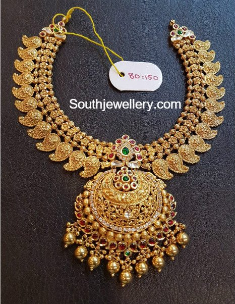 Mango Necklace Latest Jewelry Designs Jewellery Designs