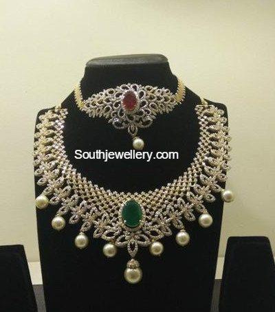 diamond_choker_plus_armlet_necklace