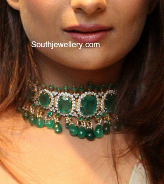 emerald_white_stones_choker