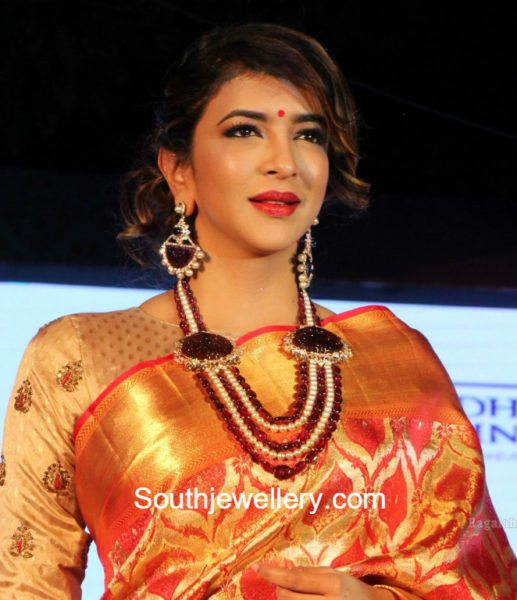 Lakshmi Manchu in Beads Mala