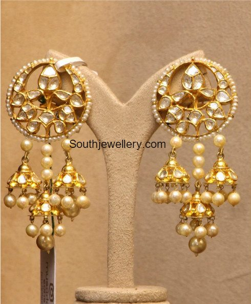 multiple_jhumka_earrings