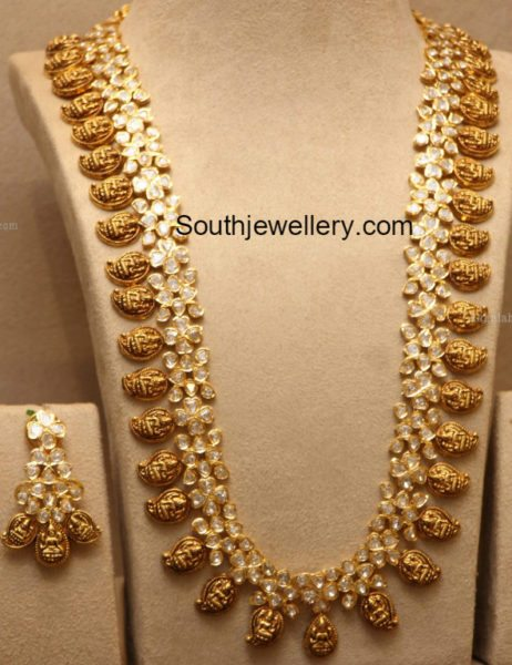 new model lakshmi mango mala jewellery designs