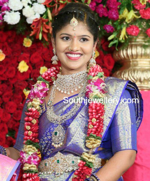 bride-diamond-haram-vaddanam
