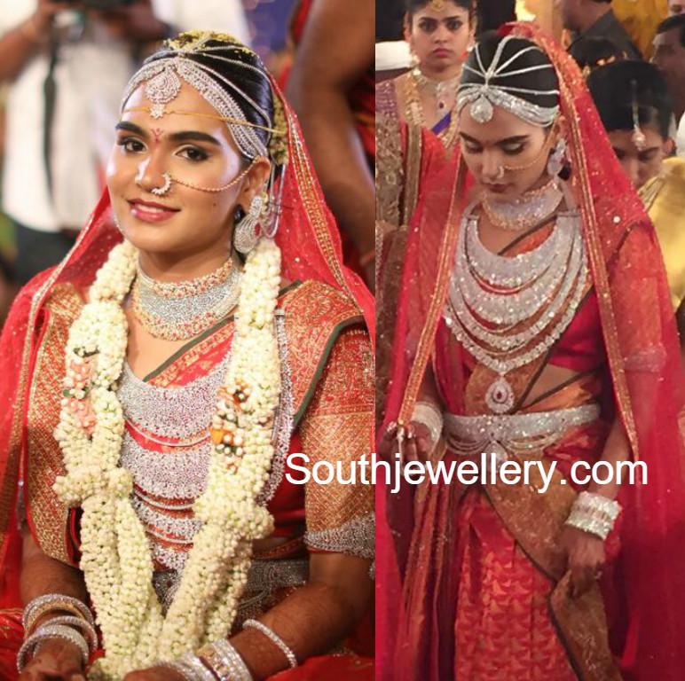 Gali Janardhan Reddy Daughter Brahmani S Wedding Jewellery