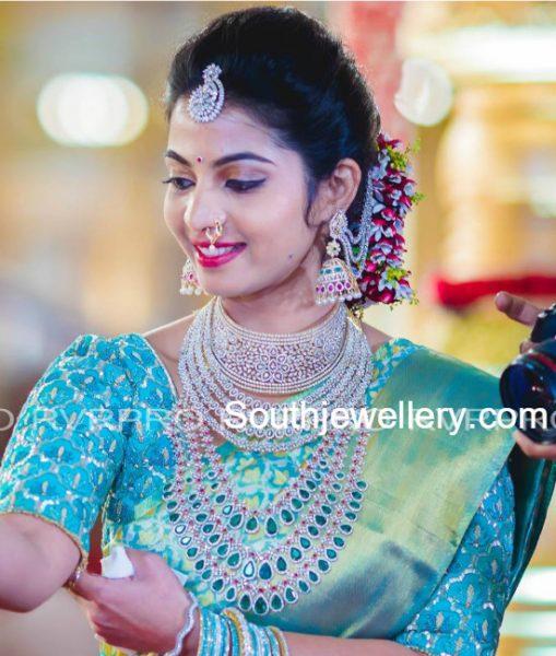madhuri-reddy-diamond-jewellery-at-brahmani-reddy-wedding