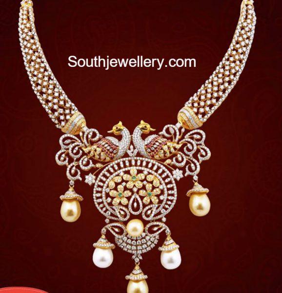 peacock-diamond-necklace