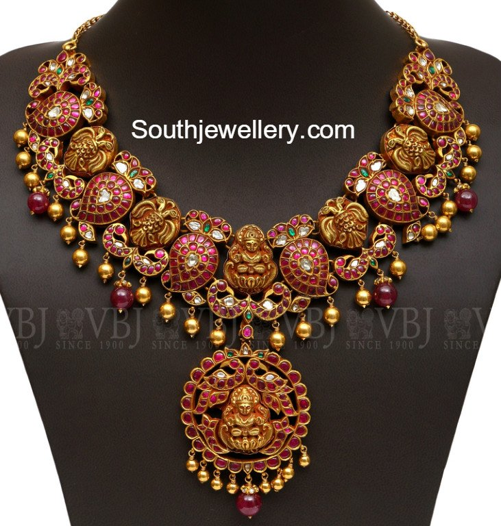 earring and necklace antique products koorgi stri griiham collection sets of set designer ruby emerald copy