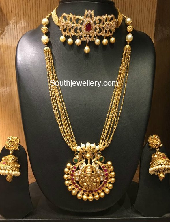 Cz Necklace Latest Jewelry Designs Jewellery Designs